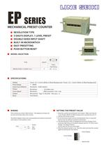 EP-15 Catalog (Mechanical Counter)
