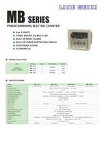 MB Series Catalog (Electromagnetic Counter)