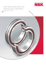 HIGH PRECISION ANGULAR CONTACT BALL BEARINGS - ...
