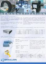 Industrial demagnetizers
