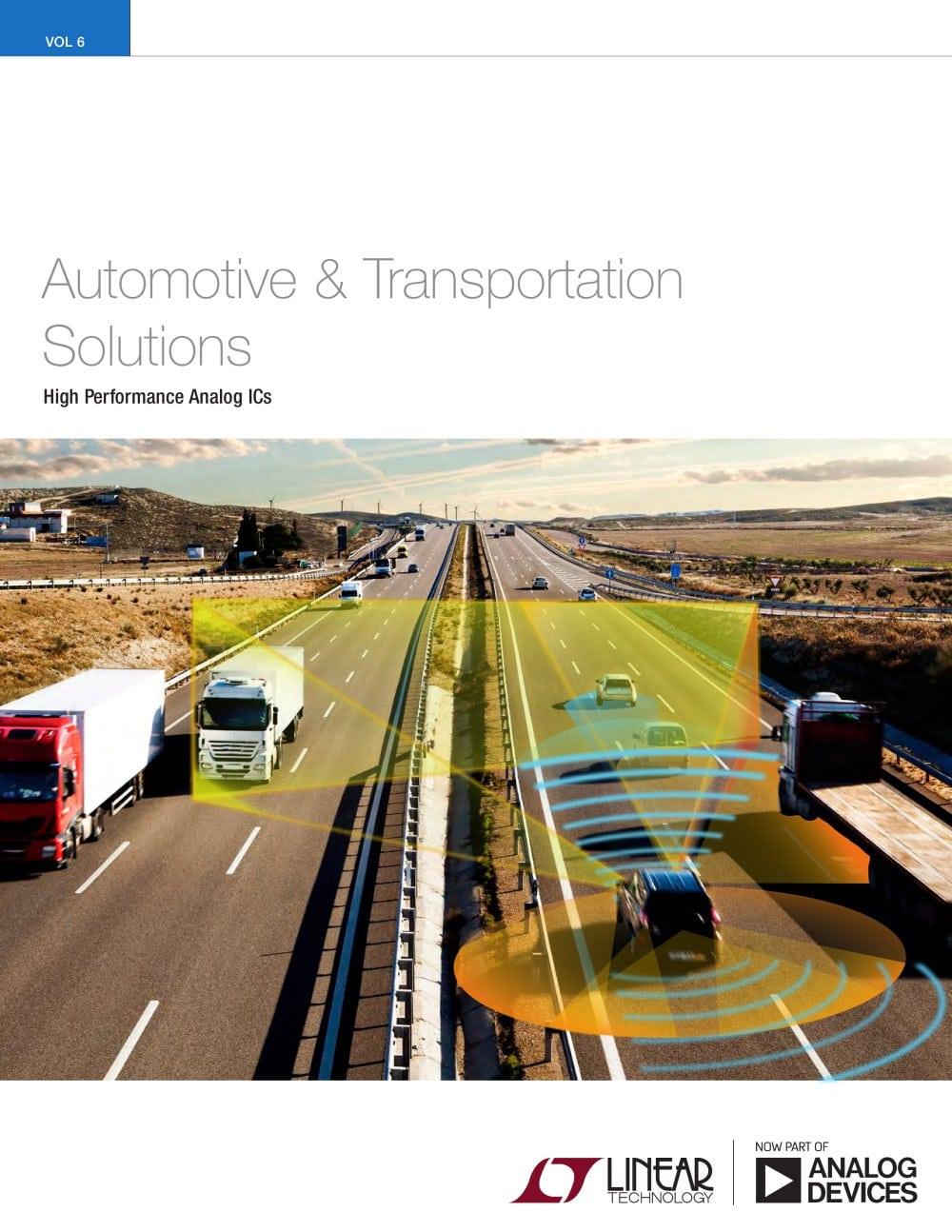 Automotive Transportation Solutions Linear Technology Pdf Monolithic Synchronous Stepdown Dc Converter 1 56 Pages