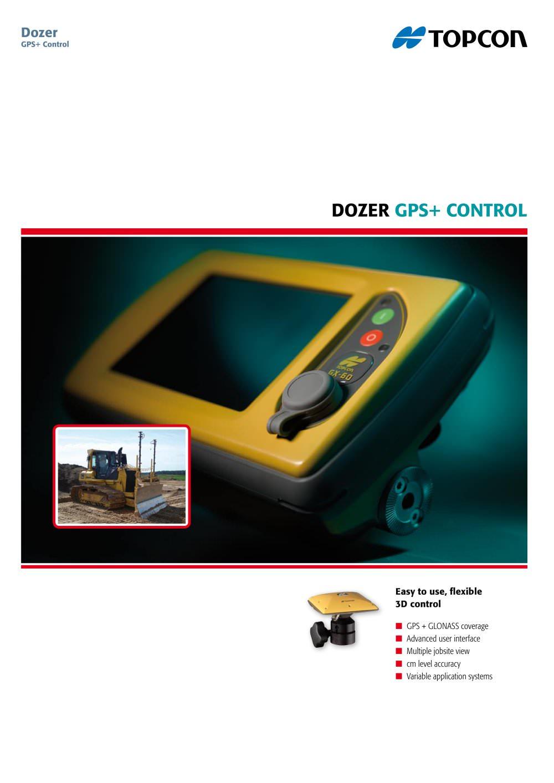 Dozer GPS + Control - 1 / 4 Pages