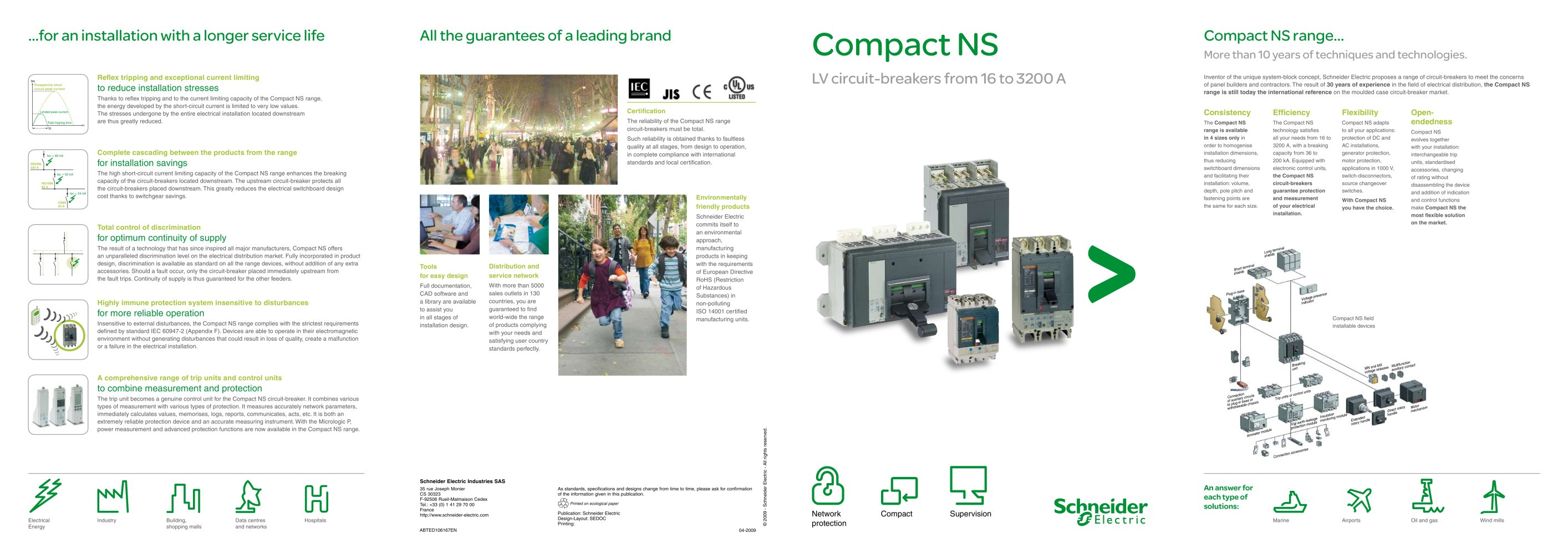 Compact NS |LV circuit-breakers from 16 to 3200 A - Schneider ...