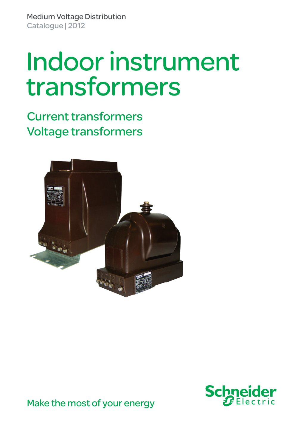 Icatalogue Ct Vt Schneider Electric Electrical Distribution Instrument Transformer Wiring Diagram 1 52 Pages