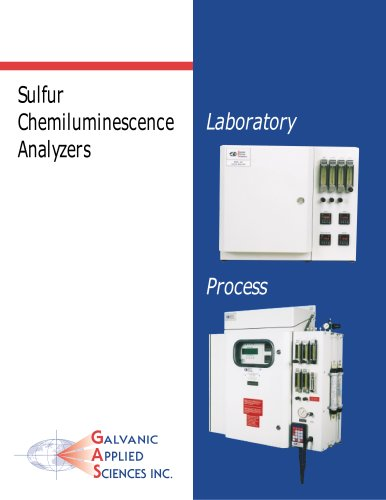 the 842 Sulfur Gas Chromatograph