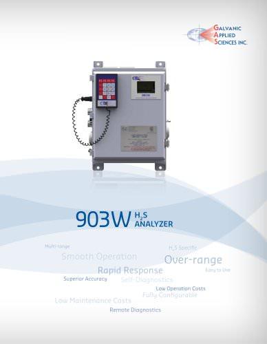 903W Natural gas analyzer