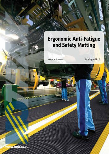 Notrax Ergonomic Anti-Fatigue & Safety Catalog #6
