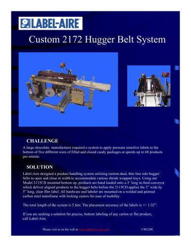 2172 Hugger Belt System