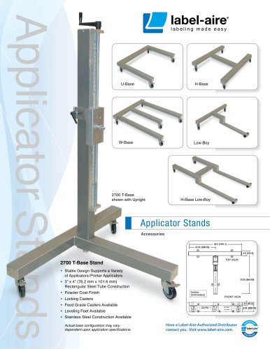 Applicator stand