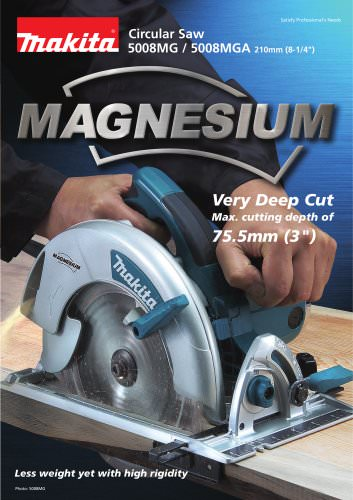 Circular Saw 5008MG, 5008MGA