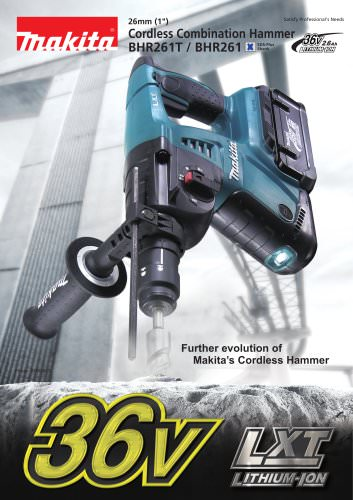 Cordless Combination Hammer BHR261T, BHR261