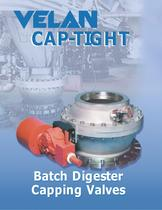Cap-tight batch digester capping valves