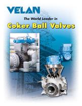 Coker ball valves 