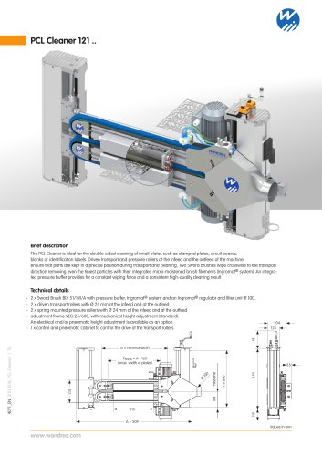 PCL-Cleaner 121 - Wandres GmbH micro-cleaning - PDF Catalogs