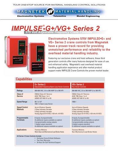 575 V IMPULSE®?G+/VG+ Series 2 - Magnetek - PDF Catalogs