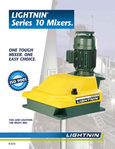 LIGHTNIN Series 10 Mixers