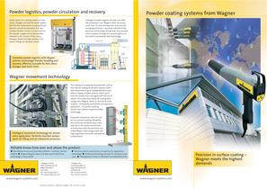 Powder coating systems from Wagner