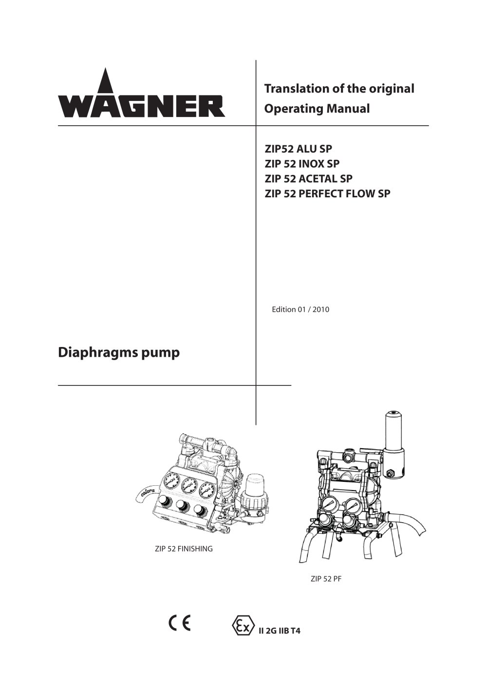 Zip 52 wagner pdf catalogue technical documentation brochure zip 52 1 68 pages ccuart Choice Image