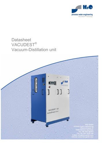 Vacuum-Distillation unit
