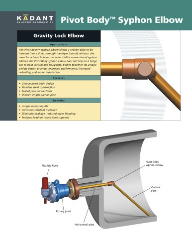 Pivot Body™ Syphon Elbow