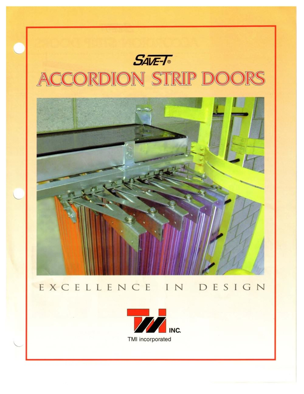 TMI Accordion Strip Door Catalogue - 1 / 2 Pages  sc 1 st  Catalogues Directindustry & TMI Accordion Strip Door Catalogue - TMI LLC - PDF Catalogue ...