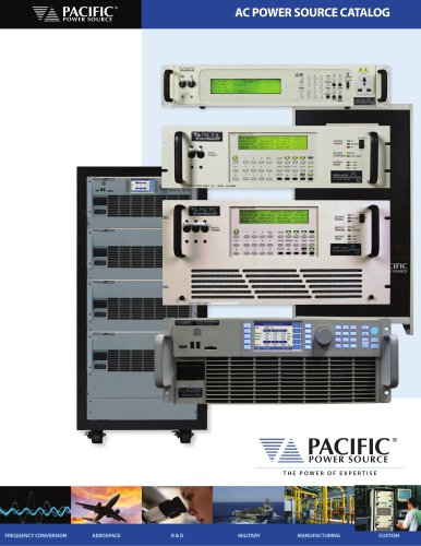 AC POWER SOURCE CATALOG
