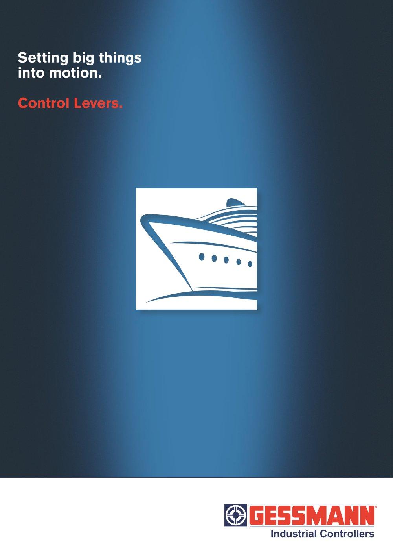 Control Levers - W. GESSMANN - PDF Catalogue | Technical ...