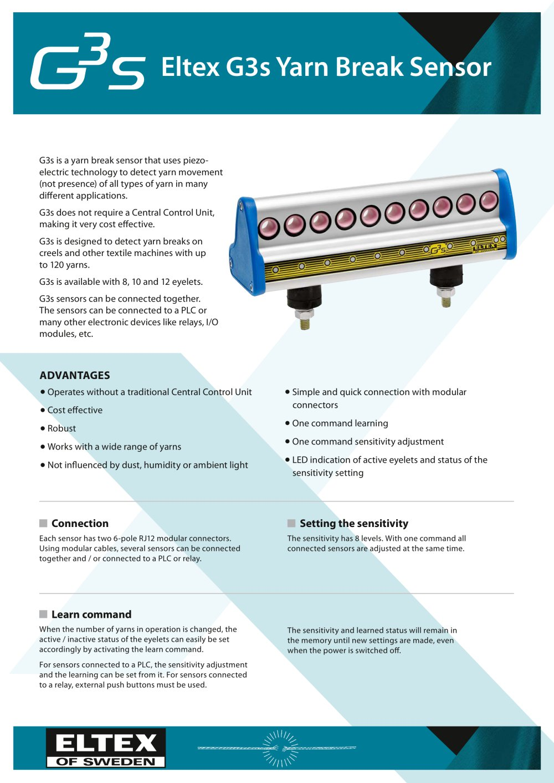 G3s - Eltex - PDF Catalogue | Technical Documentation | Brochure