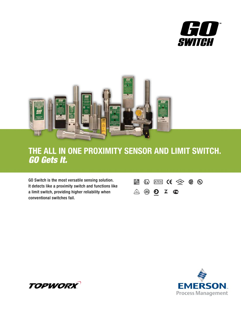 Go Switch Brochure Topworx Pdf Catalogue Technical Ac Proximity Wiring 1 20 Pages