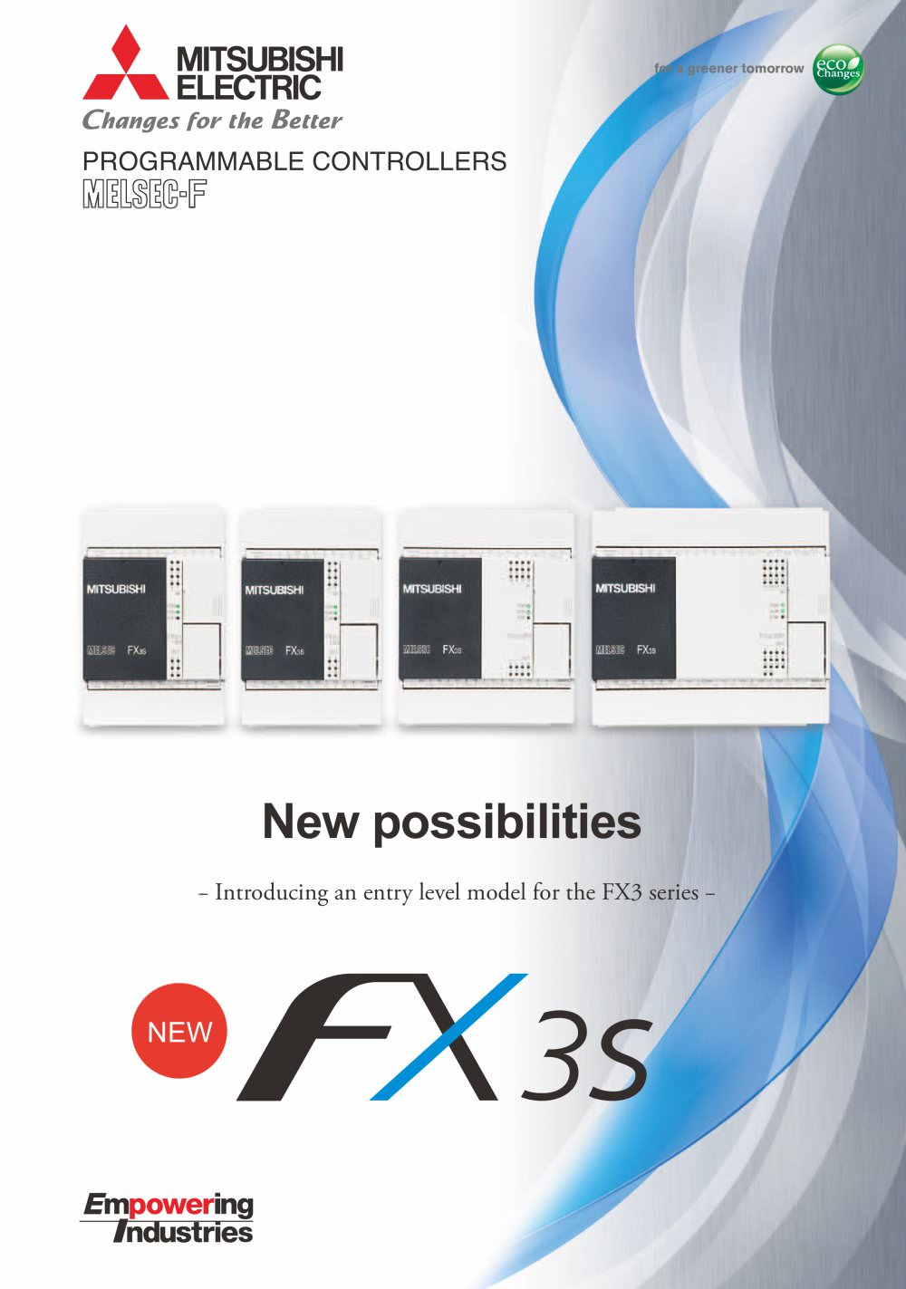 Fx3s Brochure Mitsubishi Electric Automation Pdf Catalogue Automations Gt Motor Control Circuits Simple Ac Speed 1 6 Pages