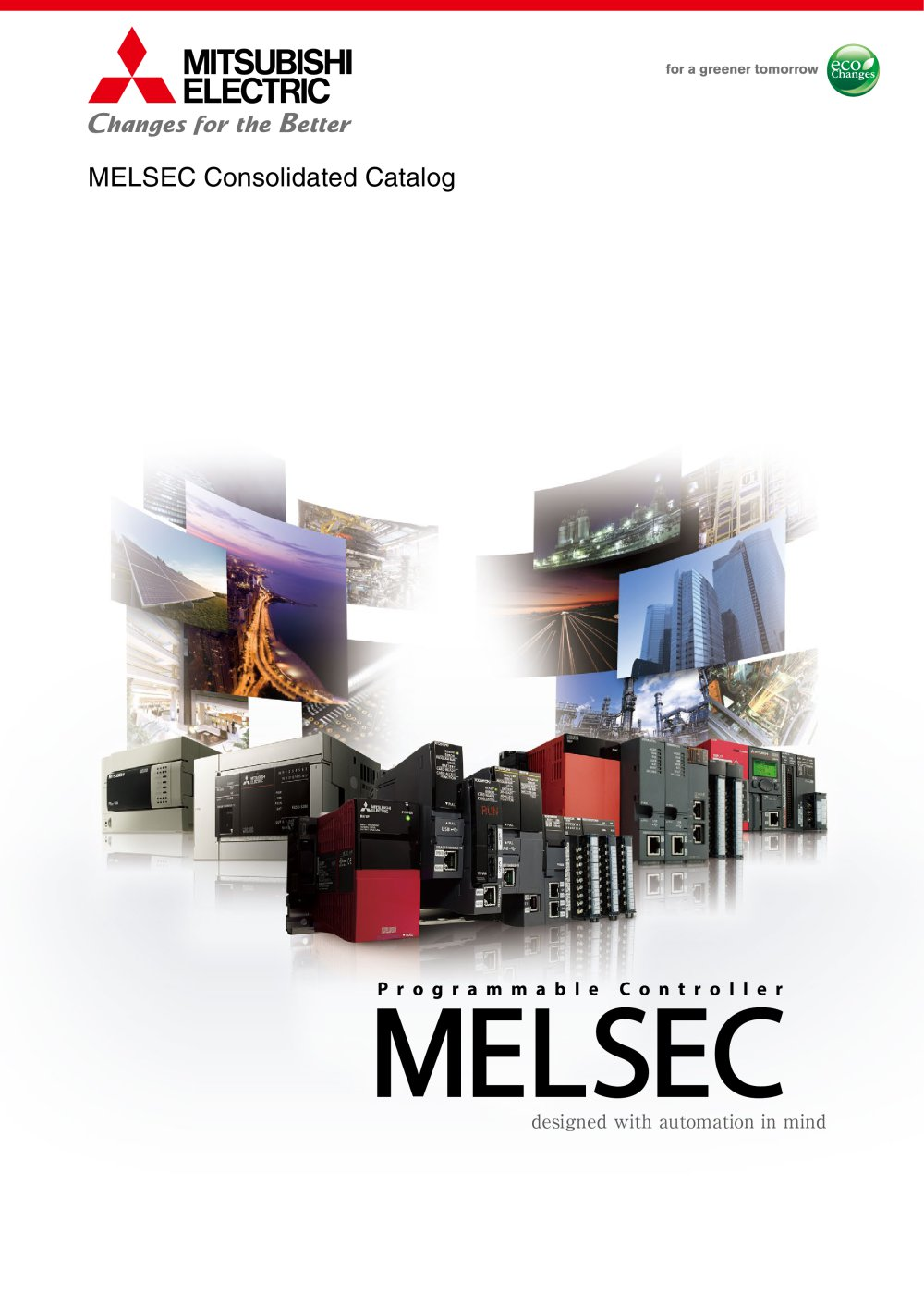 Mitsubishi Electric Controllers Consolidated Catalog Automations Gt Motor Control Circuits Simple Ac Speed 1 48 Pages