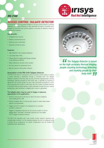 IPU 40081 - IRS 2100 (Tailgate Detector) Data Sheet