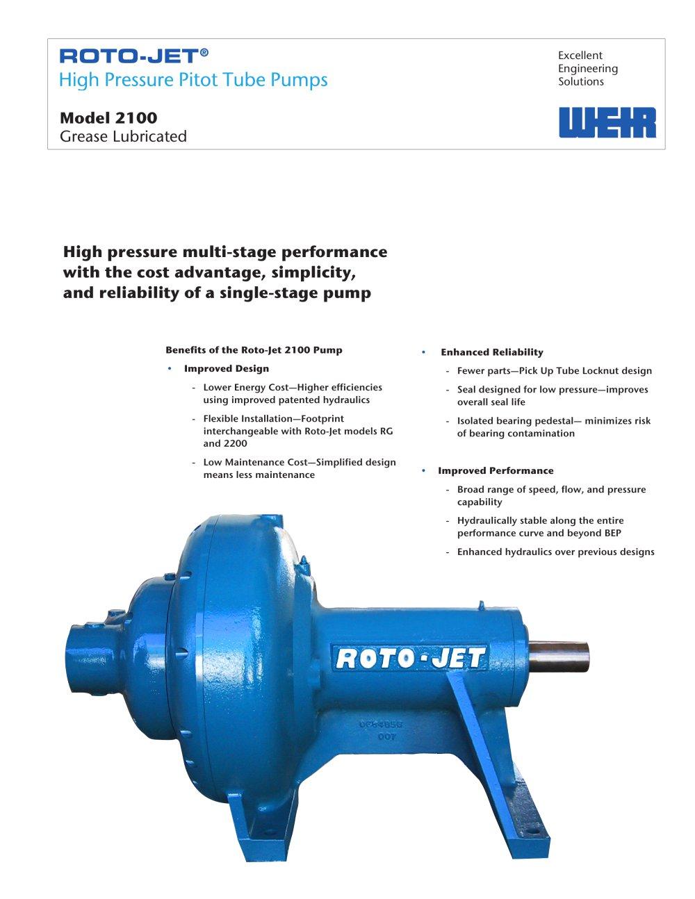 roto jet model 2100 weir power industrial pdf catalogue rh pdf directindustry com Roto-Jet Pump Parts Roto Jet Parts List