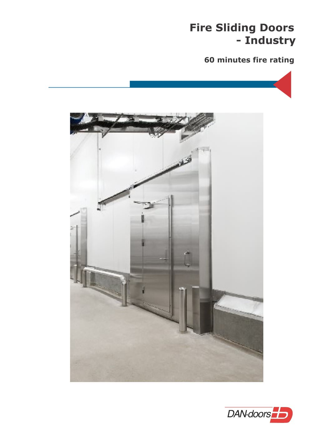 Fire Sliding Doors Dan Doors Pdf Catalogue Technical