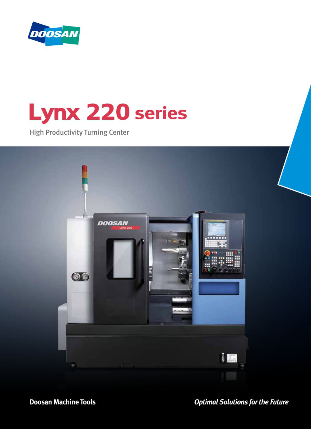lynx 220 series doosan machine tools pdf catalogue technical rh pdf directindustry com Doosan Lynx 220Lmsa Doosan Lynx 220Lc