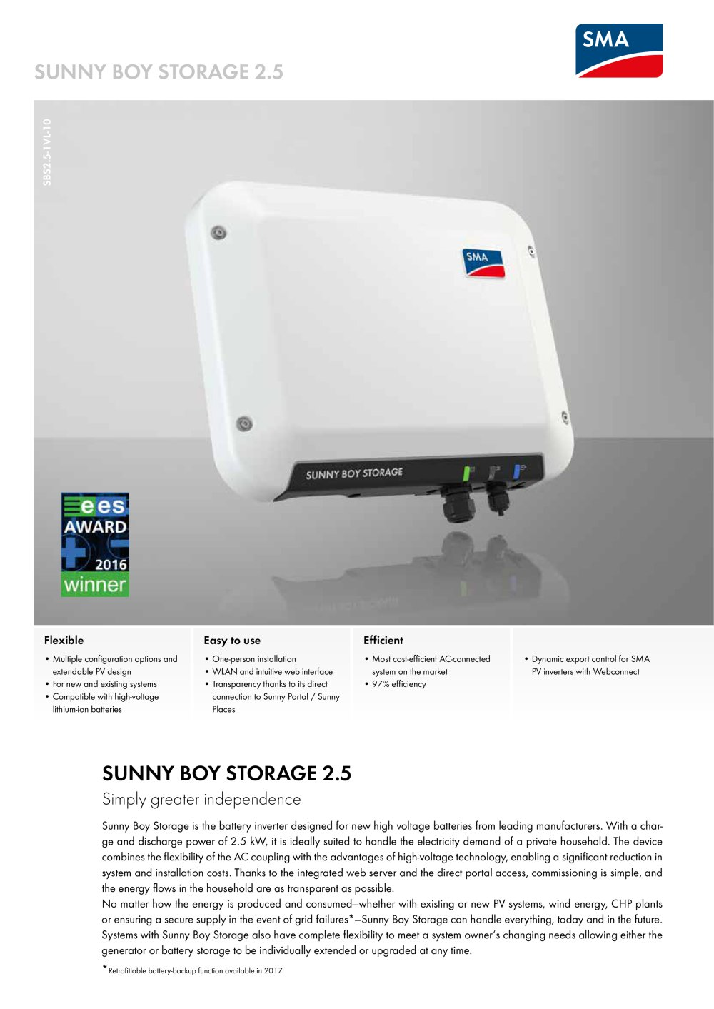 Sunny Boy Storage 2 5 1 4 Pages