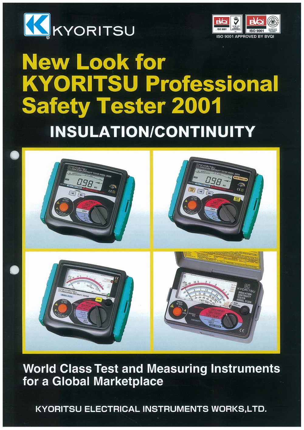 Analogue Insulation Continuity Tester 3131a Kyoritsu Pdf Continuitytestercircuitprojectjpg 1 4 Pages