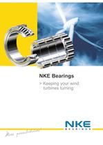 NKE bearings for wind energy