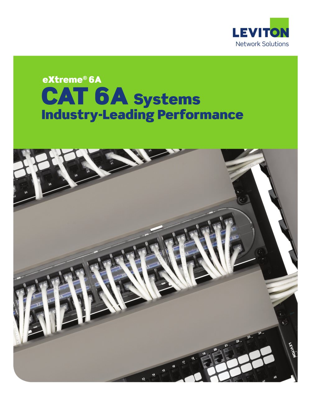 CAT 6A Brochure - Leviton - PDF Catalogue | Technical Documentation ...