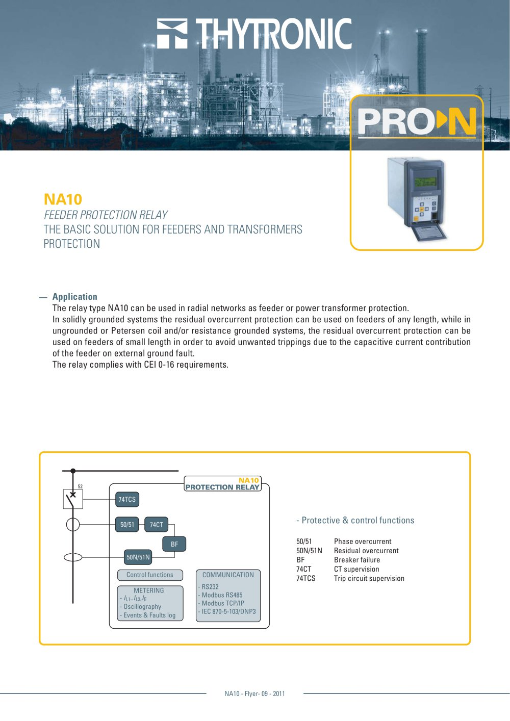 NA THYTRONIC PDF Catalogue Technical Documentation Brochure - Basic functions of a relay