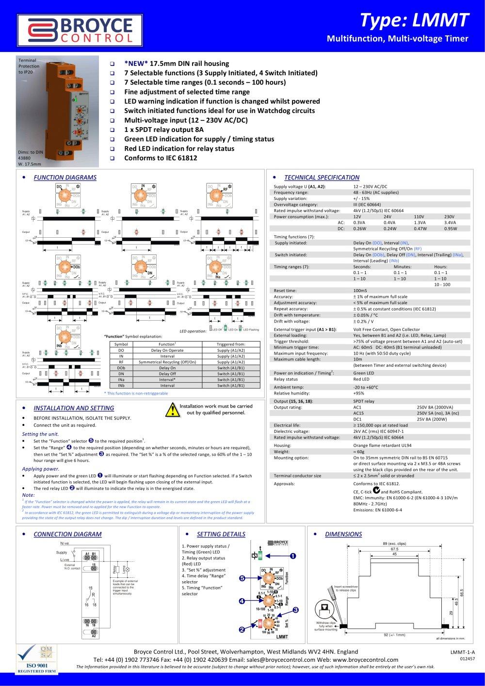 LMMT Broyce Control PDF Catalogue Technical Documentation