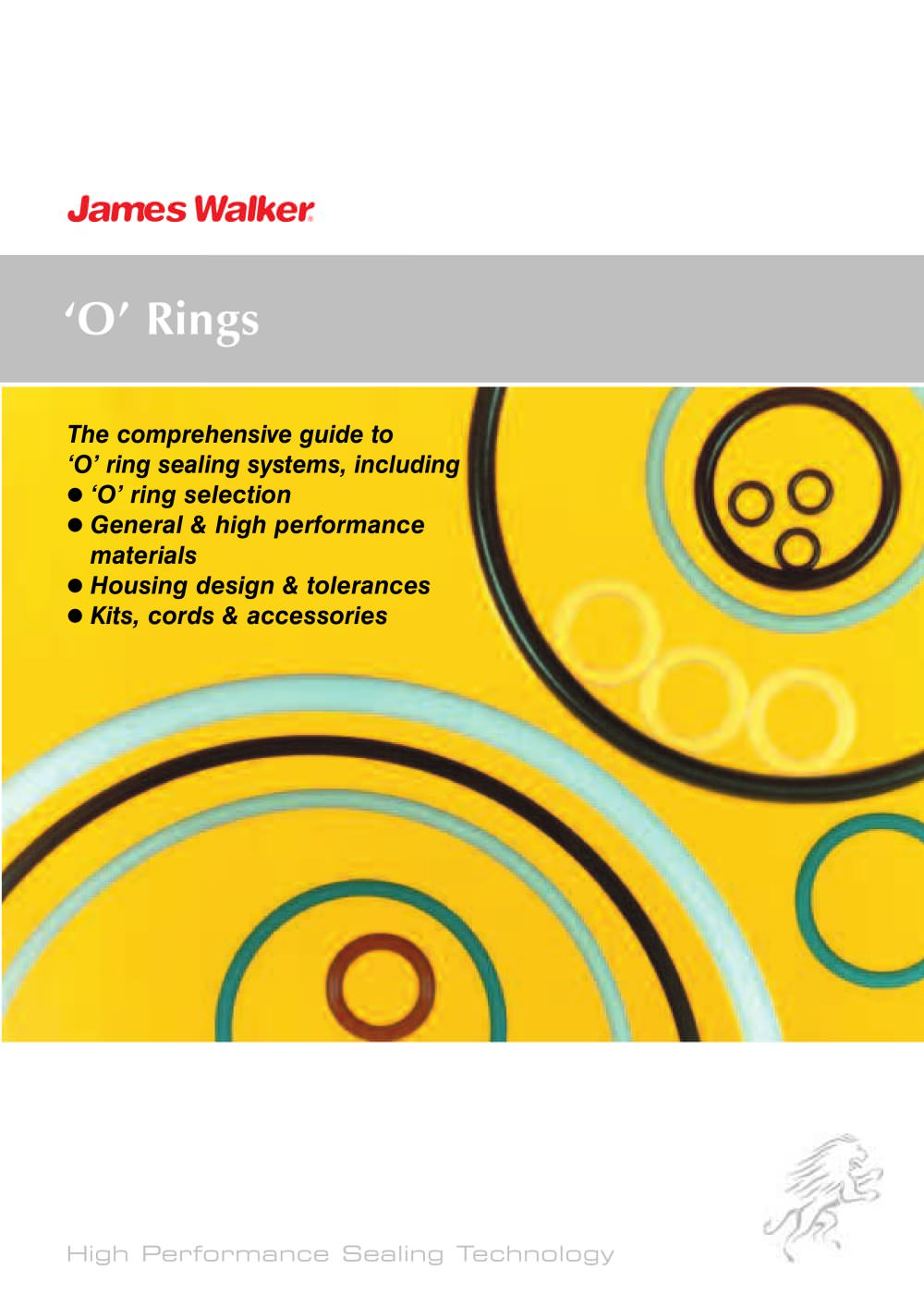 O ring guide james walker pdf catalogue technical o ring guide 1 30 pages geenschuldenfo Gallery