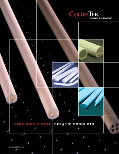 Ceramic Tubes & Rods Catalog - CoorsTek - PDF Catalogs   Technical