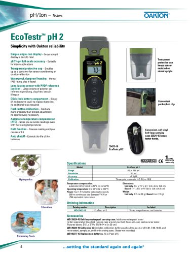 EcoTestr™ pH 2