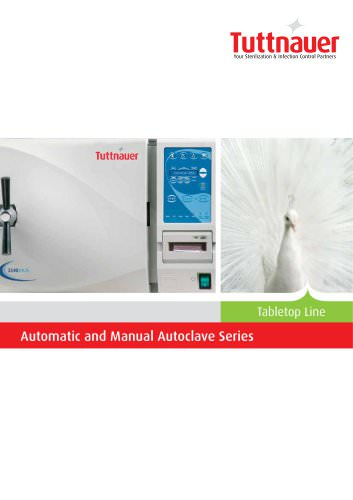 Automatic and Manual Autoclave Series