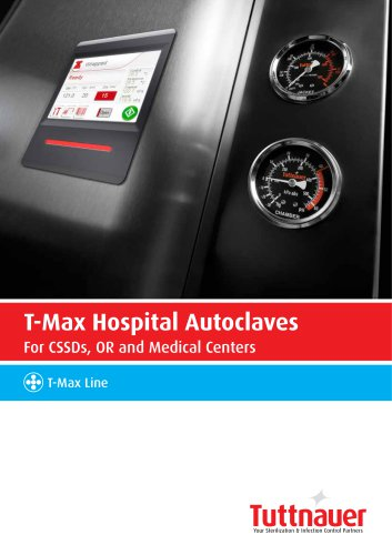 T-Max Hospital Autoclaves