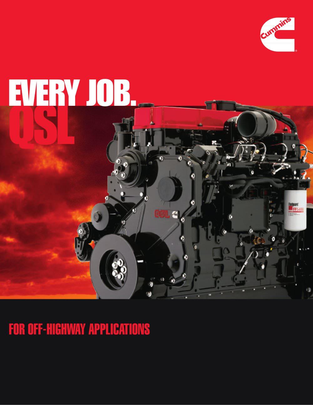 qsl cummins inc pdf catalogue technical documentation brochure rh pdf  directindustry com Cummins Qsol Cummins Diesel Engines