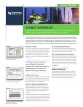 Bentley Datasheets