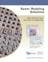 Bentley Sanitary and Combined Sewer Systems Modeling Solutions (Haestad)