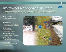 Bentley Stormwater Systems Modeling Solutions (Haestad)